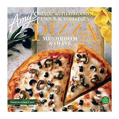 Amy's Mushroom & Olive Pizza, 13 oz