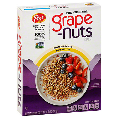 Post Grape-Nuts The Original Cereal, 20.5 oz