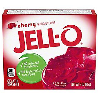 Jell-O Cherry Gelatin,3 oz