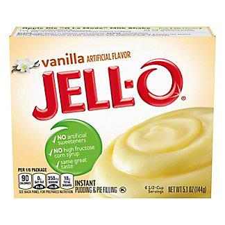 Jell-O Vanilla Instant Pudding,5.1 OZ