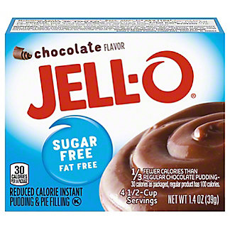 Jell-O Instant Sugar Free Chocolate Pudding,1.4 oz