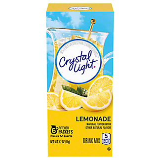 Crystal Light Crystal Light Natural Lemonade  Drink Mix,12 QT