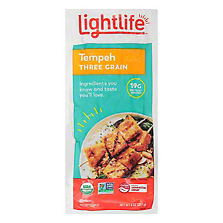 Lightlife Organic Three Grain Tempeh,8 OZ