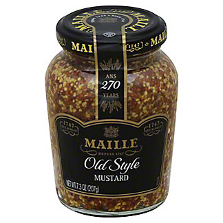 Maille Whole Grain Old Style Medium Dijon Mustard, 7.3 oz