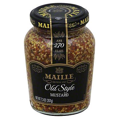 Maille Whole Grain Old Style Medium Dijon Mustard, 7.3 oz