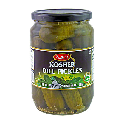 ZerGut Kosher Dill Pickles,24 OZ