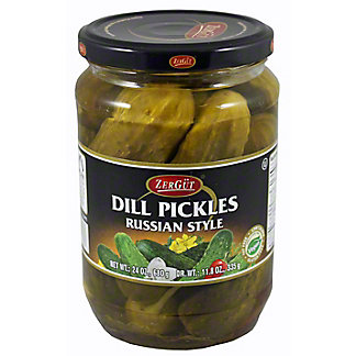 Zergut Russian Dill Pickles,24 OZ