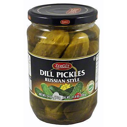 Zergut Russian Dill Pickles,24 OZ