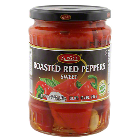 Zergut Roasted Red Peppers, 19 OZ