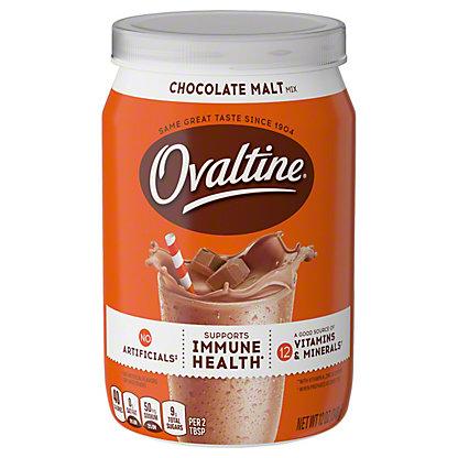 Ovaltine Chocolate Malt Drink Mix, 12 oz