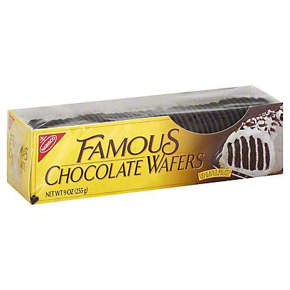 Nabisco Famous Chocolate Wafers,9 OZ