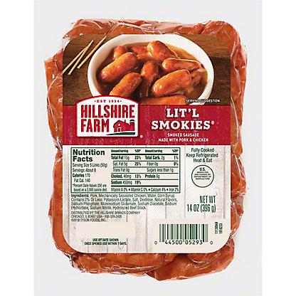 Hillshire Farm Lit'l Smokies Smoked Sausage,14 OZ