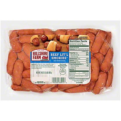 Hillshire Farm Lit'l Smokies Beef Smoked Sausage, 28 oz