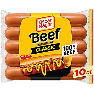 Oscar Mayer Classic Beef Franks,10 CT