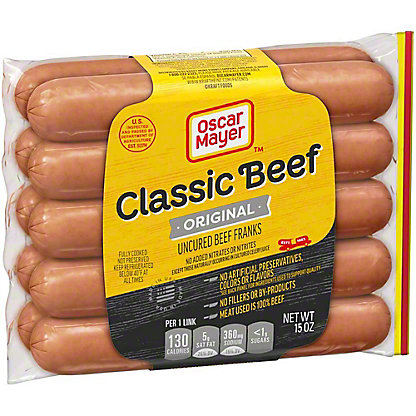 Oscar Mayer Classic Beef Franks,10 CT