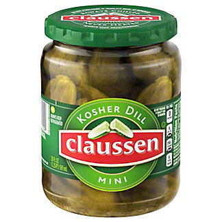 Claussen Mini Kosher Dill Pickles,20 OZ