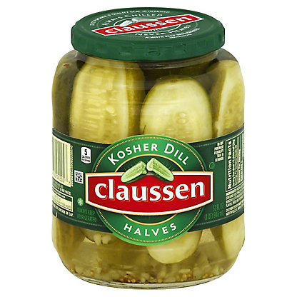 Claussen Half Kosher Dill Pickles,32 OZ