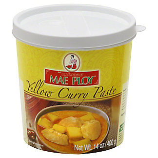 Mae Ploy Yellow Curry Paste, 14 oz