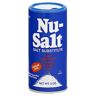 Nu-Salt Salt Substitute,3 OZ