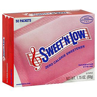 Sweet 'N Low Granulated Sugar Substitute Packets, 50.00 ea