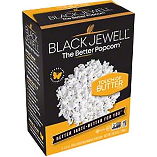 Black Jewell Butter Microwave Popcorn, 3 ct