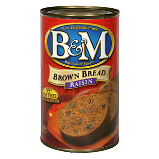 B & M Raisin Brown Bread, 16 OZ