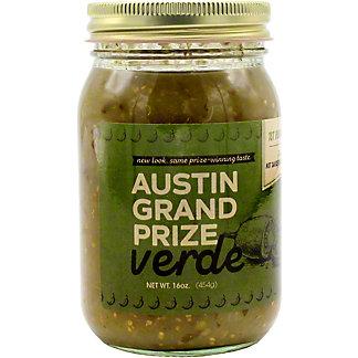 Austin Grand Prize Green Sauce, 16 oz