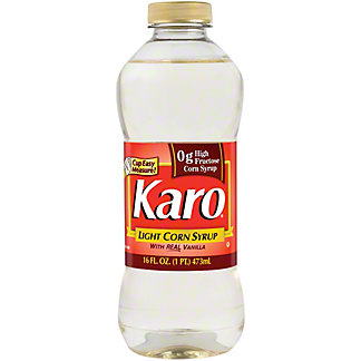 Karo Light Corn Syrup with Real Vanilla,16 oz