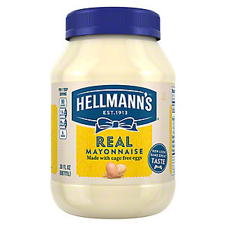 Hellmann's Real Mayonnaise,30 OZ