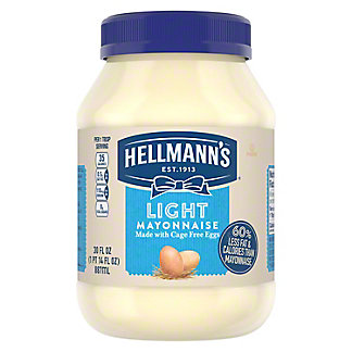 Hellmann's Mayonnaise Light,30.00 oz