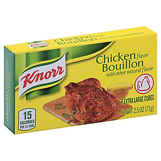 Knorr Chicken Bouillon Extra Large Cubes,6 CT