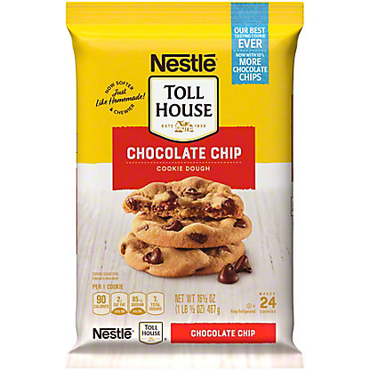 Nestle Toll House Chocolate Chip Cookie Dough,24 CT