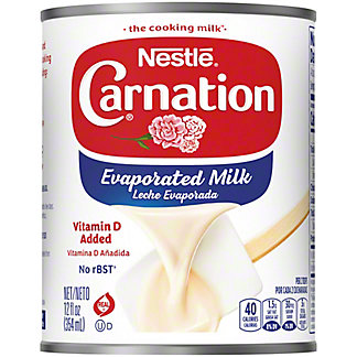 Nestle Carnation Evaporated Milk,12 oz