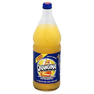 Orangina Sparkling Citrus Beverage with Natural Pulp,1 L