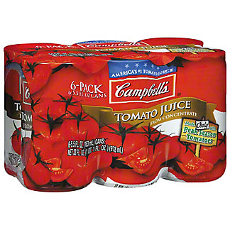 Campbell's Tomato Juice, 6/5.5 oz