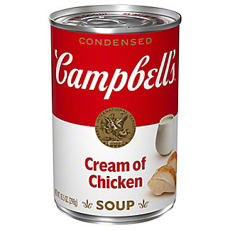 Campbell's Condensed Cream of Chicken Soup, 10.75 oz