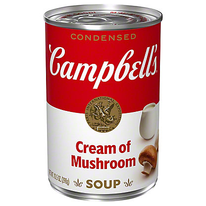 Campbell's Condensed Cream of Mushroom Soup, 10.75 oz