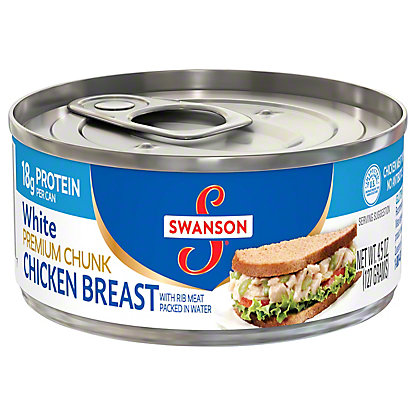 Swanson White Premium Chunk Chicken Breast, 4.5 oz