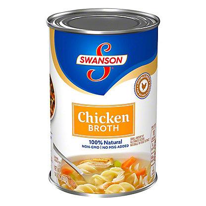 Swanson 100% Natural Chicken Broth,14.5 OZ