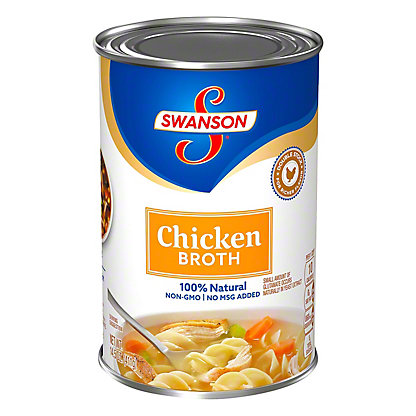 Swanson 100% Natural Chicken Broth,14.5 OZ