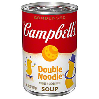 Campbell's Condensed Double Noodle Soup, 10.50 oz