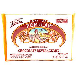 La Popular Authentic Mexican Chocolate Beverage Mix,9 OZ