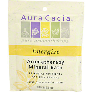 Aura Cacia Pure Aromatherapy Energize Mineral Bath, 2.5 OZ