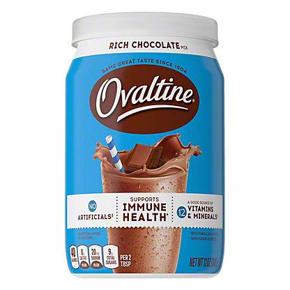 Ovaltine Rich Chocolate Drink Mix, 12 oz