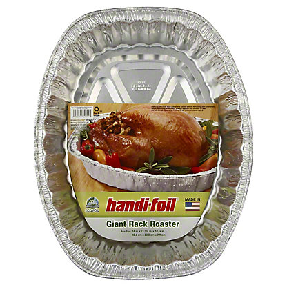 Handi-Foil Ultimates Giant Oval Rack Roaster,EACH