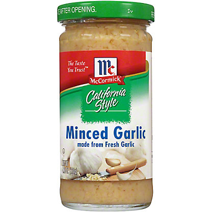 McCormick California Style Minced Garlic, 4.25 oz