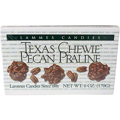 Lammes Texas Chewie Pecan Praline Candy,6OZ