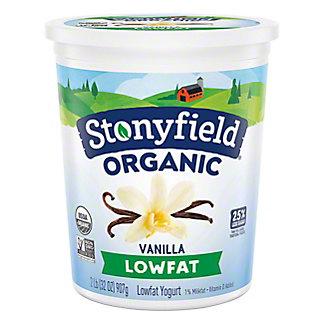 Stonyfield Organic Low Fat French Vanilla Yogurt,32.00 oz