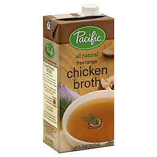 Pacific Natural Free Range Chicken Broth,32 OZ