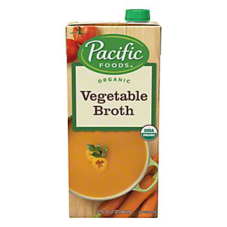 Pacific Organic Pacific Foods Vegetable Broth Fat-Free,32.00 oz